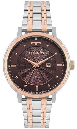 Relógio Technos Feminino bicolor Trend 2015CCT/5G