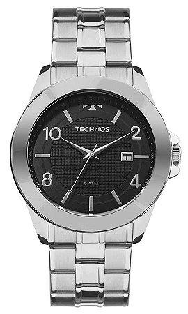 Relógio Technos Masculino Classic Steel 2115KQK/1C