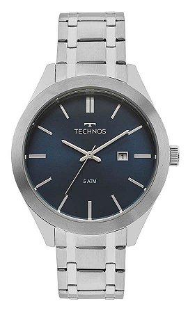 Relógio Technos Masculino Classic Steel 2115MNR/1A