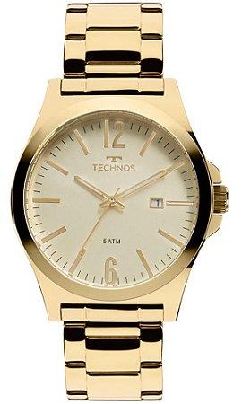 Relógio Technos Masculino Classic Steel 2115LAN/4X