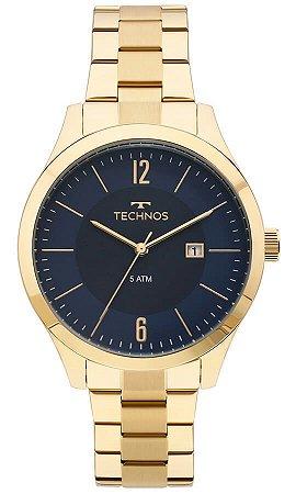 Relógio Technos Masculino Classic Steel 2115MOS/4A