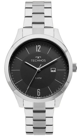Relógio Technos Masculino Classic Steel 2115MOT/1P