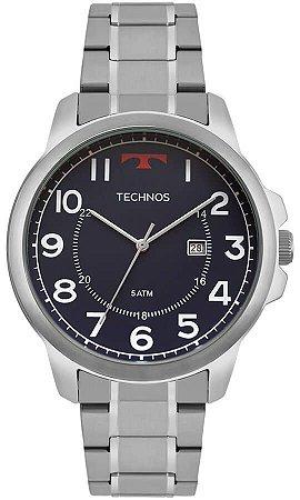 Relógio Technos Masculino Classic Steel 2115MOZ/1A