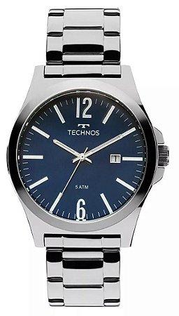Relógio Technos Classic Steel Masculino 2115LAY/1A