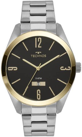 Relógio Technos Masculino Steel 2115MNV/1P
