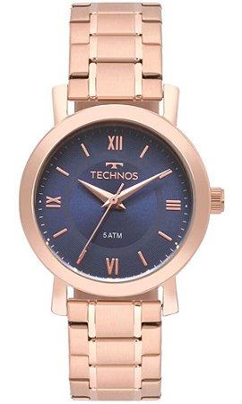 Relógio Technos Feminino Rosé Elegance 2035MMQ/4A