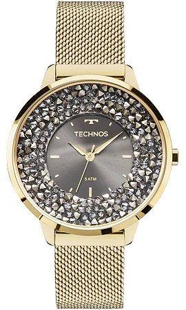 Relógio Technos Feminino Cristal 2035MLG/4C