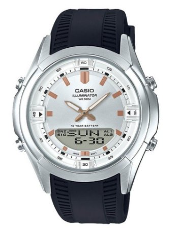 Relógio Casio Masculino Standard AMW-840-7AVDF