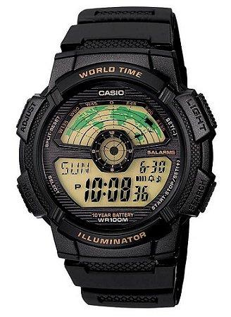 Relógio Casio Masculino Standard AE-1100W-1BVDF