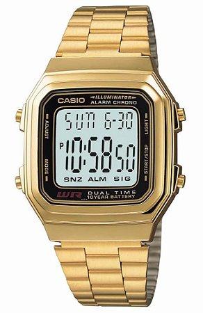 Relógio Casio Feminino Vintage A178WGA-1ADF