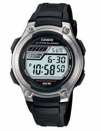 Relógio Casio Masculino Standard W-212H-1AVDF