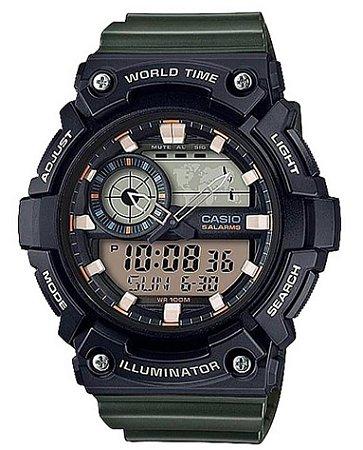 Relógio Casio Masculino AEQ-200W-3AV
