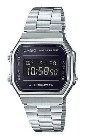 Relógio Casio Unisex Vintage A168WEM-1DF