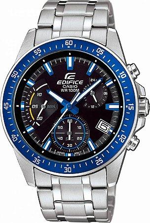 Relógio Casio Edifice Masculino EFV-540D-1A2VUDF