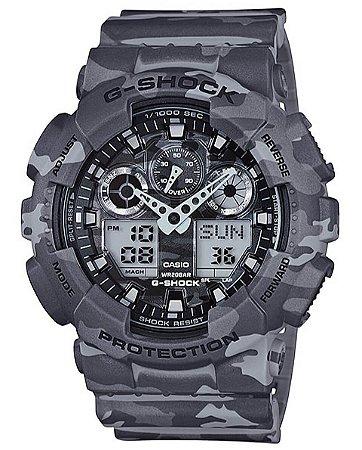 Relógio Casio G-Shock Masculino GA-100CM-8ADR
