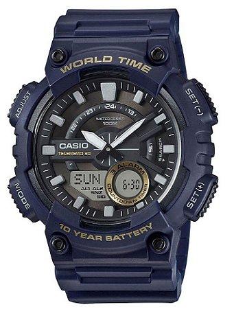 Relógio Casio Masculino AEQ-110W-2AVDF