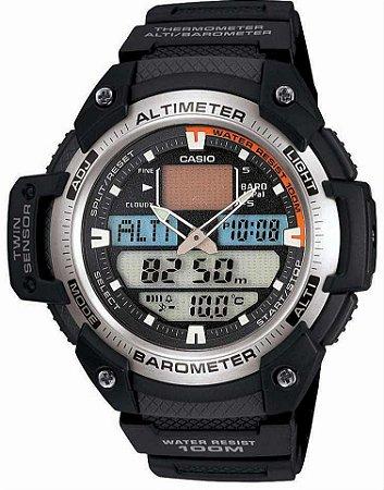 Relógio Casio Outgear Masculino SGW-400H-1BVDR