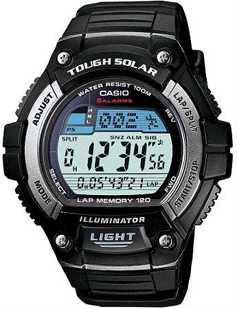 Relógio Casio Masculino Tough Solar W-S220-1AVDF