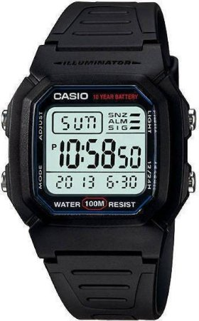 Relógio Casio Masculino W-800H-1AVDF