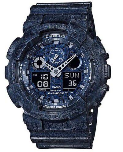Relógio Casio G-Shock Masculino GA-100CG-2ADR