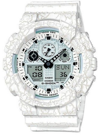 Relógio Casio G-Shock Masculino GA-100CG-7ADR