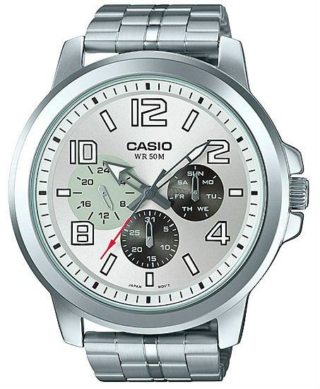 Relógio Casio Masculino MTP-X300ZD-7AVDF