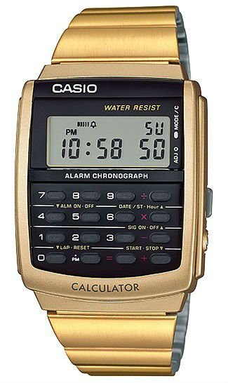 Relógio Casio Data Bank Masculino CA-506G-9ADF