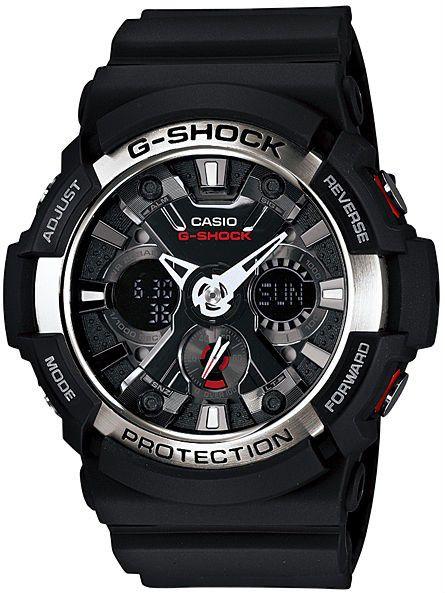 RELÓGIO CASIO MASCULINO G-SHOCK GA-200-1ADR