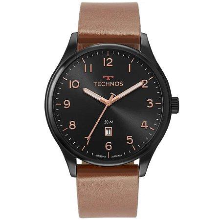 Relógio Technos Masculino Classic Steel 2115MUZ/2P