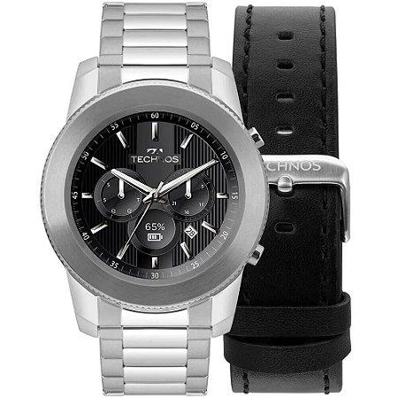 Relógio Smartwatch Technos Connect Duo Masculino M1AA/1P - Troca Pulseira