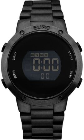 Relógio Euro Metal Trendy EUBJ3279AB/4P Digital