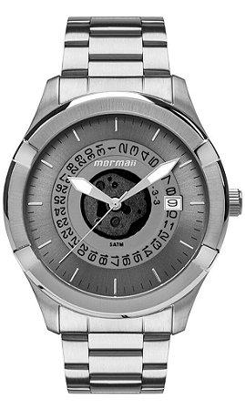 Relógio Mormaii Steel Basic Masculino MO2415AD/1A