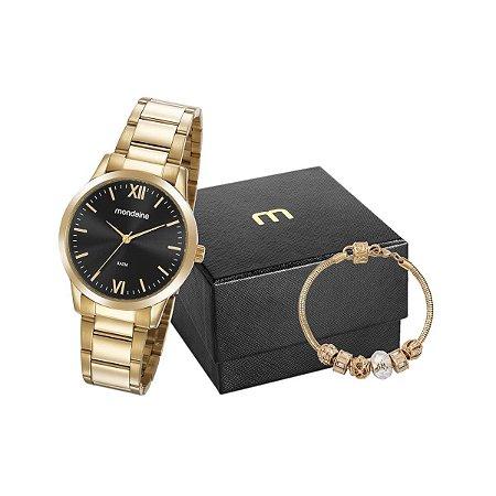Relógio Mondaine Feminino 53922LPMGDE2K1 + pulseira