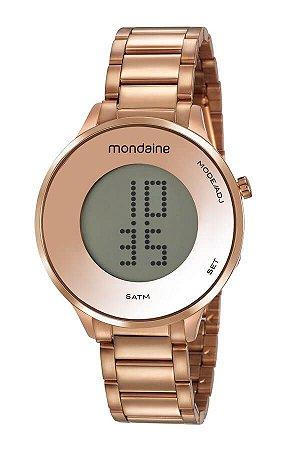 Relógio Mondaine Feminino Digital  53786LPMVRE2