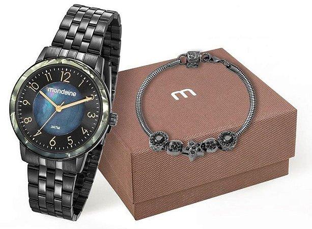 Relógio Mondaine Feminino 53658LPMVPE3K8 + Pulseira