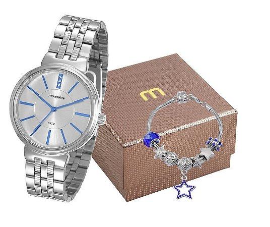 Relógio Mondaine Feminino 94970L0MVNE1K1 com pulseira