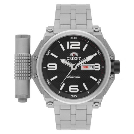 Relógio Orient Army Tech Automático Masculino 469TI004 P2GX Troca Pulseira