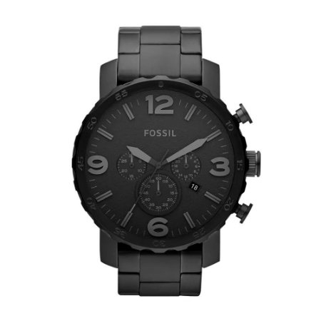 Relógio Fossil Masculino Nate JR1401/4PN
