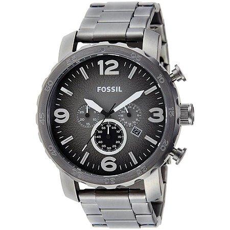 Relógio Fossil Masculino Nate JR1437/4PN