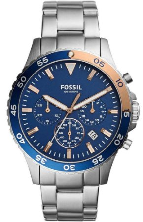 Relógio Fossil Masculino Crewmaster CH3059/1AN