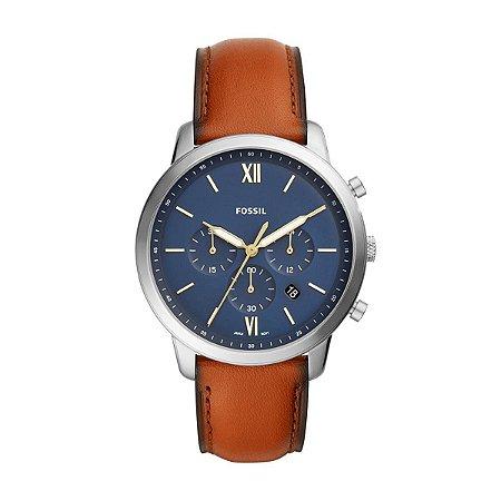 Relógio Fossil Masculino Neutra Chrono FS5453/0MN