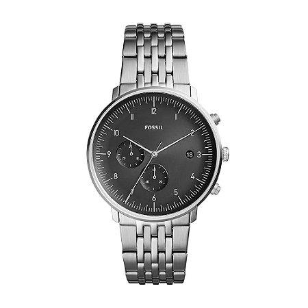 Relógio Fossil Masculino Chase FS5489/1PN