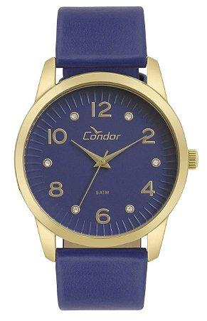 Relógio Condor Feminino  CO2035KWE/K2A + colar e brincos