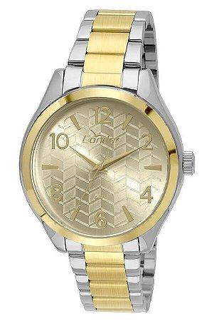 Relógio Condor Feminino CO2036KSY/K5D + Colar + Brincos
