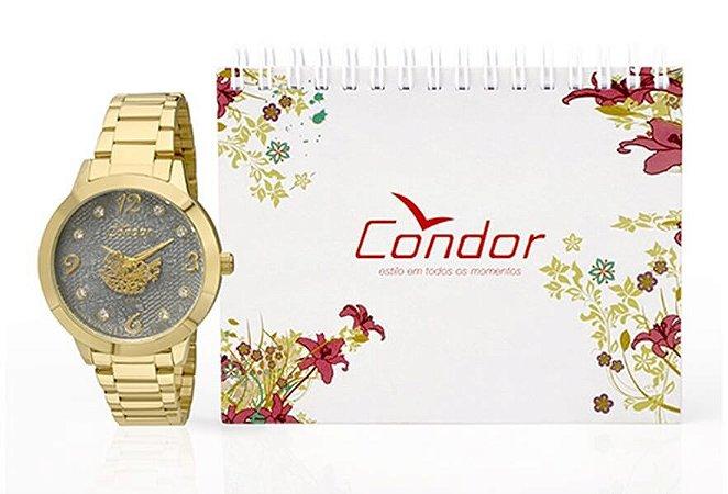 Relógio Condor Feminino CO2036DG/K4C + Agenda