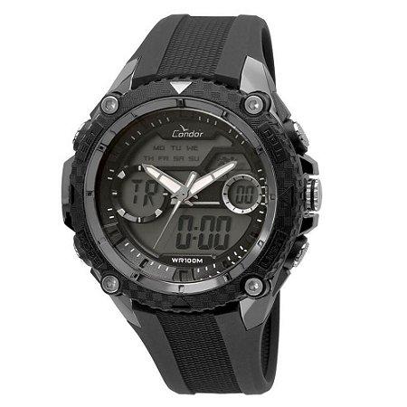 Relógio Condor Masculino Anadigi COAD1146AB/8P
