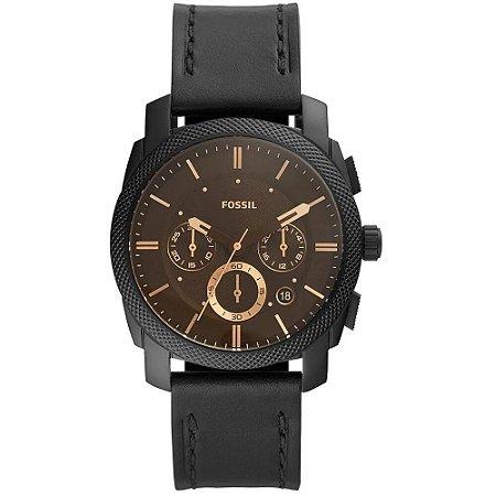 Relógio Fossil Masculino Machine FS5586/0PN