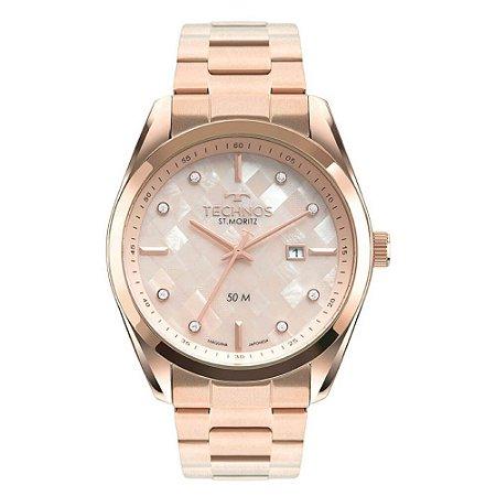 Relógio Technos ST. Moritz Feminino 2117LCK/1T
