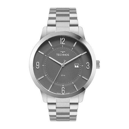 Relógio Technos Masculino Classic Steel 2117LCP/1C