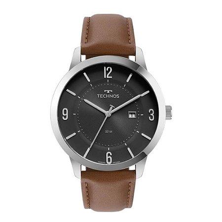 Relógio Technos Masculino Classic Steel 2117LCQ/0P